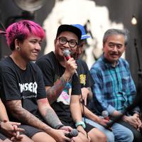 Pee Wee Gaskins menghindari pembajakan yang makin marak di dunia musik tanah air. (Adrian Putra/Bintang.com)