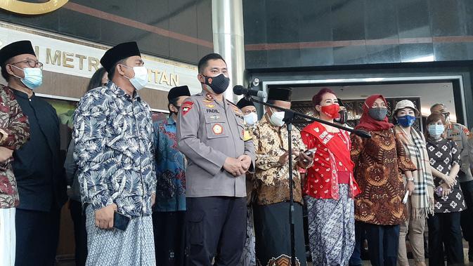 Forum Mubalig Beri Dukungan Kapolda Metro Tegakkan Hukum di Jakarta