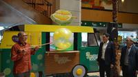 Sebuah hotel di Malaysia menyediakan ruang khusus untuk mencicipi durian (Dok.Instagram/@corushotelkl/https://www.instagram.com/p/B28PIoAgJAA/Komarudin)