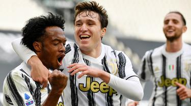 FOTO: Bungkam Inter Milan, Juventus Jaga Asa Tampil di Liga Champions