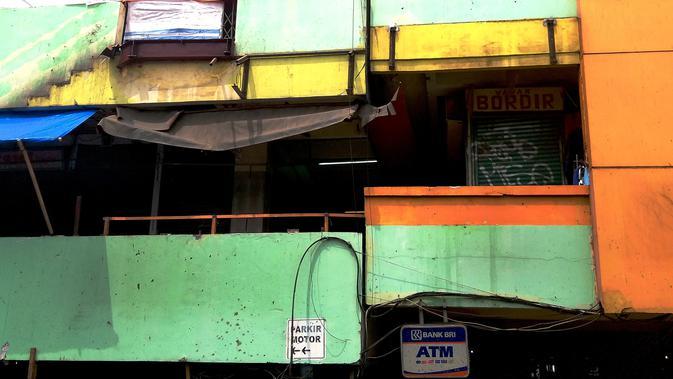 Kondisi Pasar Blok G Tanah Abang, Senin (12/8/2019). (Liputan6.com/Ika Defianti)