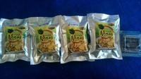 Ragam keripik nanas yang diproduksi kelompok tani di Desa Pagaruyung, Kabupaten Kampar, Riau. (Liputan6.com/M Syukur)