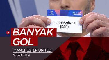 Berita video Manchester United akan menghadapi Barcelona pada perempat final Liga Champions. Menurut Legenda The Red Devils, Andy Cole, akan tercipta banyak gol pada laga tersebut.