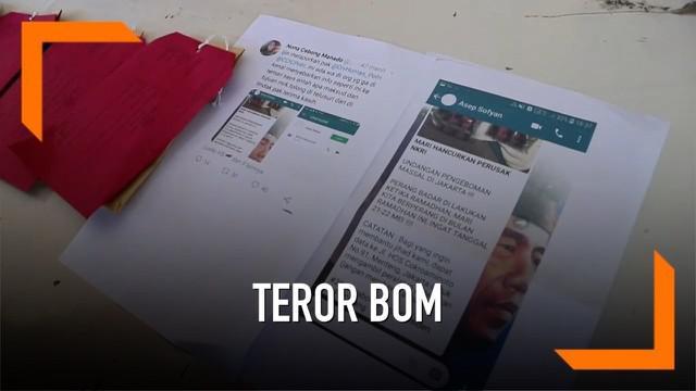 Seorang guru SMA berinisial AS, ditangkap polisi karena menyebar info akan adanya bom di aksi 22 Mei. AS bahkan menyerukan ajakan jihad pada aksi di gedung KPU itu.