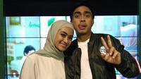 Ayudia Bing Slamet dan Ditto dalam sebuah acara. (Syifa Islamila/Bintang.com)