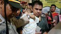 Akhir Dramatis Penculikan Bocah Cantik di Makassar. (Liputan6.com/Fauzan)
