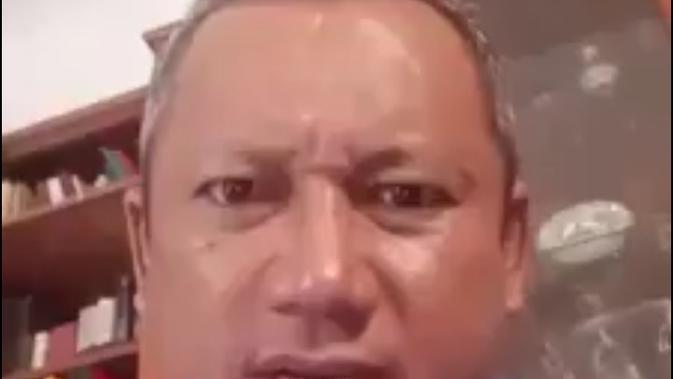 Pria asal Cirebon berinisial IAS resmi ditetapkan sebagai tersangka oleh Polres Cirebon. Tangkapan layar sosmed (Liputan6.com / Panji Prayitno)