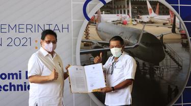 Batam Aero Technic (BAT) resmi sebagai Kawasan Ekonomi Khusus (KEK)