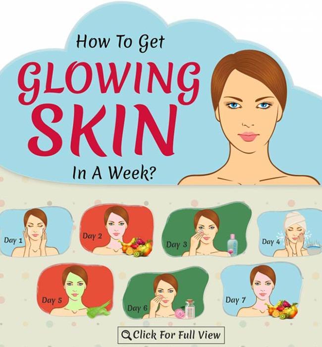 Cara dapatkan wajah glowing dalam seminggu/copyright Stylecraze.com