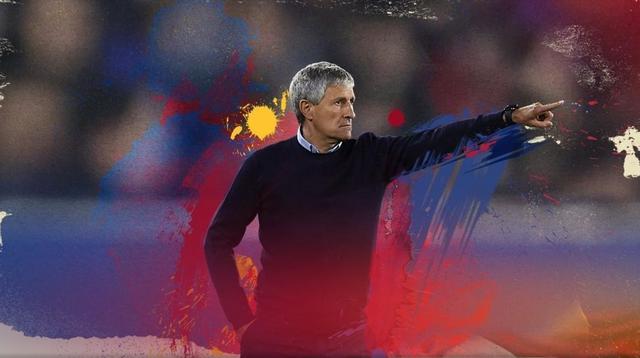 Quique Setien resmi menjadi pelatih Barcelona menggantikan Ernesto Valverde. (Dok. FC Barcelona)