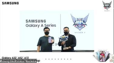 Peresmian Kerja Sama Samsung dan Mobile Legends Indonesia