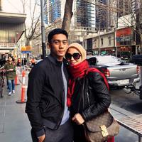 Daffa Wardhana dan Marini Zumarnis (dok. Instagram @daffawardhana/https://www.instagram.com/p/Bc_gAO0Am4l/Putu Elmira)