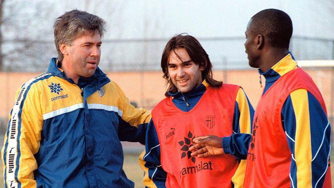 Carlo Ancelotti pernah menangani Parma dari Juli 1996 sampai Juni 1998 (dok. The Sun)
