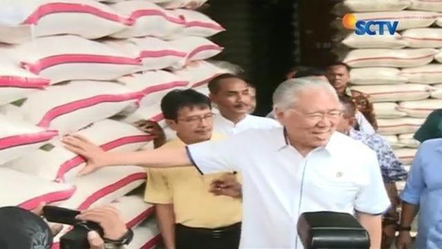 Selain membahas soal pengiriman beras dari daerah yang berkurang, Mendag juga membahas harga eceran tertinggi (HET).