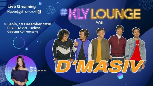 """Sebelum mengeluarkan Album yang ke-6, D'Masiv mengisi suasana musik Indonesia dengan mengeluarkan 2 single sekaligus yang berjudul """"Selamat Jalan Kekasih"""" dan """"Ingin Lekas Memelukmu Lagi"""". Saksikan selengkapnya di KLY Lounge!"""
