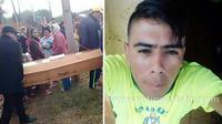 (Foto: Oddity Central) Disangka meninggal dan telah dimasukan ke pei mati, pemuda ini justru pulang dan bikin terkejut keluarga karena kembali dalam keadaan hidup.