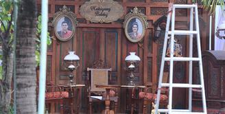 Persiapan demi persiapan terus dilakukan jelang Presideng Jokowi mantu. Rabu, 8 November 2017 Jokowi akan menikahkan anaknya, Kahiyang Ayu dengan Bobby Nasution. (Adrian Putra/Bintang.com)