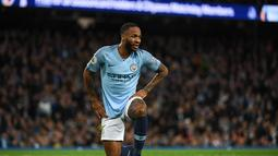 2. Raheem Sterling (Man City) - 8 gol dan 6 assist (AFP/Paul Ellis)teguh