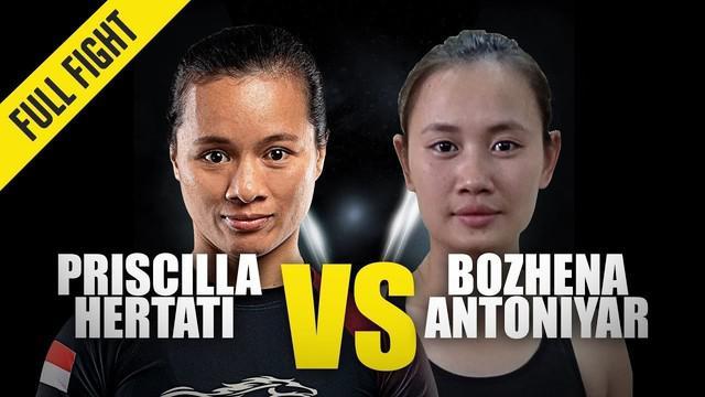 Berita Video Momen Saat Priscilla Hertati Kalahkan Bozhena Antoniyar di ONE Championship Dawn Of Valor