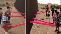 Jungkat-jungkit di perbatasan AS-Meksiko (Sumber: Instagram @rrael)