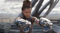 Letitia Wright, pemeran karakter Shuri di film Black Panther. foto: Screen Rant