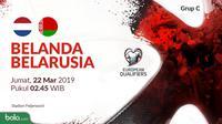 Kualifikasi Piala Eropa 2020 - Belanda Vs Belarusia (Bola.com/Adreanus Titus)