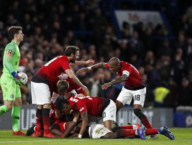 Gagal Bendung Manchester United, Perjuangan Chelsea di FA Cup Terhenti