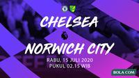 Premier League - Chelsea vs Norwich City. (Bola.com/Adreanus Titus)