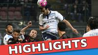 Video highlights Serie A antara Lazio melawan AC Milan yang berakhir dengan skor 1-1, Senin (21/3/2016) dini hari WIB.