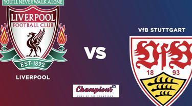 Cover untuk mini match laga pramusim Liverpool vs Stuttgart yang disiarkan di Champions TV pada Sabtu (22/8/2020) malam hari WIB.