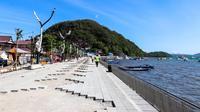 Kawasan Waterfront Pantai Marina-Bukit Pramuka Labuan Bajo. (Dok. Kementerian PUPR)