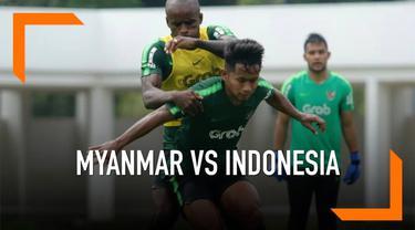 Timnas Indonesia akan bertemu Myanmar pada partai uji tanding yang berstatus FIFA Matchday, Senin 25 Maret 2019 di Mandalar Tiri Stadium, Mandalay.
