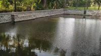 Embung di Desa Klampokan Kecamatan Panji, Situbondo yang dibangun Kementan. Dok Kementan