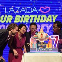 Ulang tahun Lazada ke-7. (Foto: BCW/Lazada Indonesia)