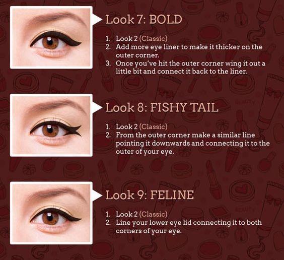 Bold, Fishy Tail, Feline./Copyright makeuptutorials.com
