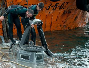 Kapal Selam Bermuatan Kokain Diamankan Polisi Spanyol