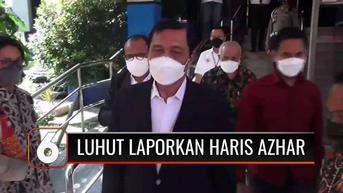 VIDEO: Pencemaran Nama Baik di Media Sosial, Luhut Laporkan Haris Azhar dan Koordinator Kontras