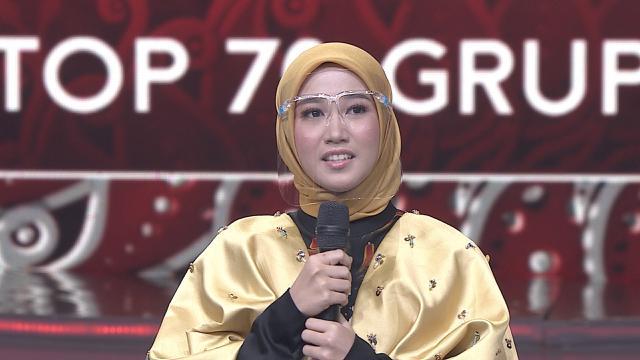 Di Konser LIDA 2021 Top 70 Grup 4 Merah Septi (Jambi ...