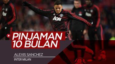 Berita video Manchester United sepakat melepas Alexis Sanchez ke Inter Milan dengan status pinjaman selama 10 bulan.