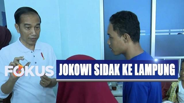 Hasil sidak Presiden Jokowi ini menunjukkan, mayoritas pasien yang ditemui di rumah sakit ini telah menggunakan BPJS dan kebanyakan kepesertaan berbayar.