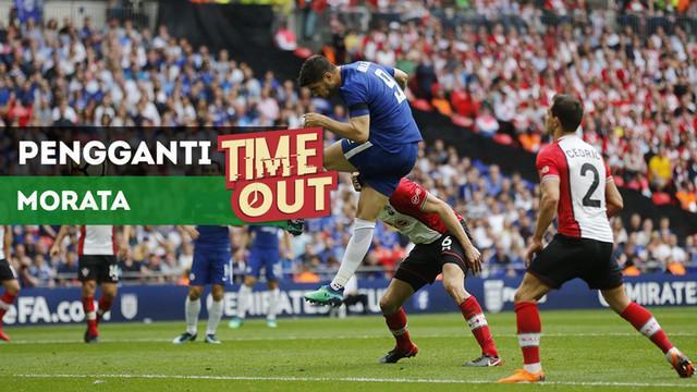 Berita video Time Out kali ini tentang Chelsea yang dikabarkan sudah mendapatkan pemain untuk menggantikan posisi Alvaro Morata.