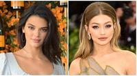 Kendall Jenner dan Gigi Hadid. (Charley Gallay / GETTY IMAGES NORTH AMERICA / AFP/Instagram/gigihadid/Asnida Riani)