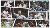 Kolase - Real Madrid, Cristiano Ronaldo, Zinedine Zidane, Raul Gonzales (Bola.com/Adreanus Titus)