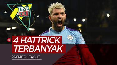 Berita Video Sergio Aguero dan 4 Pemain Pencetak Hattrick Terbanyak di Premier League