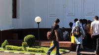 Peserta Historical Trips sedang mengikuti kunjungan ke kawasan militer di Gedung Kodiklat TNI AD, Bandung, Jawa Barat.