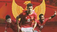 Timnas Indonesia - Witan Sulaeman, Ricky Kambuaya, Ramai Rumakiek (Bola.com/Adreanus Titus)