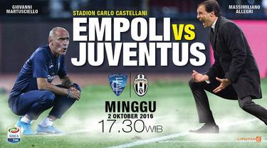 Prediksi Empoli vs Juventus