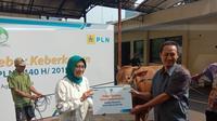 Plt. Dirut PLN Sripeni Inten Cahyani dalam acara Idul Adha di Jakarta. Dok: PLN