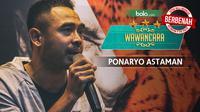 Wawancara Ponaryo Astaman (Bola.com/Foto: Vitalis Yogi /Grafis: Adreanus Titus)