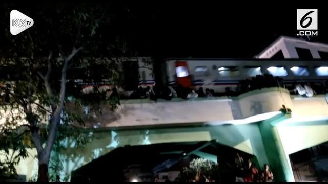 insiden Surabaya Membara saat Hari Pahlawan berbuntut panjang. Kini kepolisian memeriksa 3 pegawai PT KAI.